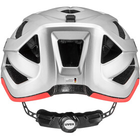 UVEX Active CC Casco, silver-orange matt